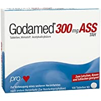 GODAMED 300 mg TAH Tabletten 100 St Tabletten preisvergleich bei billige-tabletten.eu