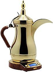 Arab Dalla Deem Arabic Coffee Maker, Gold