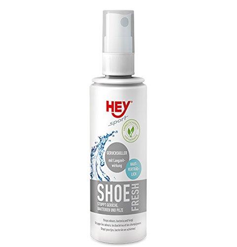 HEY sport SHOE Fresh Deodorant Schuhspray stoppt Gerüche, Bakterien und Pilze in Schuhen., 100 ml