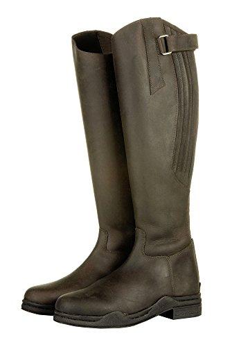HKM stivali da equitazione - Country -, lunghezza standard / - weite - marrone