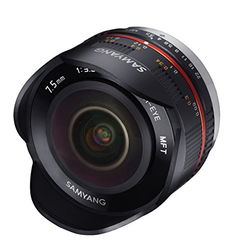 Samyang 7.5mm F3.5 UMC Fish-eye Objektiv Micro Four Third - 3