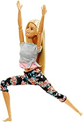 Barbie - Made to Move Puppe, blond