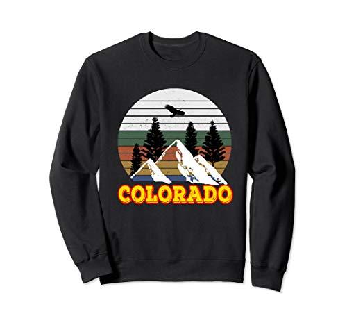 Vintage Outdoor Lovers Colorado Mountains Retro Sweatshirt -