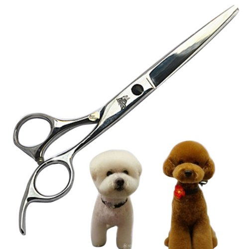 8 Inch Stainless Pet Dog Grooming Scissors Repair Hair Shears