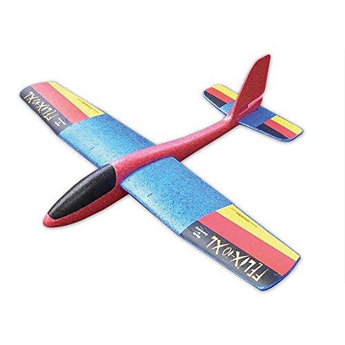 Wurfgleiter Felix-IQ \' XL - The Big One \' - Looping & Gleitflug - Qualität 100{cc1f6153bf53deadc840520dafa015e0b31625cb495ce5c24161e085795ea962} Made in Germany - Farblich Sortiert
