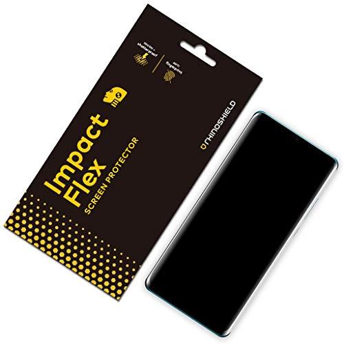 Rhino Shield Screen Protector für Huawei P30 Pro [Impact Flex] | Edge to Edge/Schockresistent/Kompatibel mit Fingerabdruck Sensor - Klarer und Kratzresistenter Displayschutz (Shield-screen Rhino Protector)