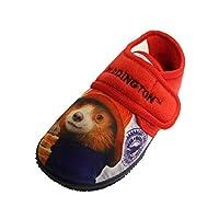 Socks Uwear Paddington Boys Olot Touch-Close Full-Back Slippers
