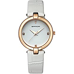 Fashion ladies quartz watch/ strap waterproof watch/Simple casual watches-D
