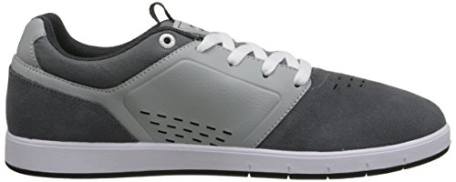 DC Men's Cole Signature Skate Shoe, Black/Red, 10 M US Grey