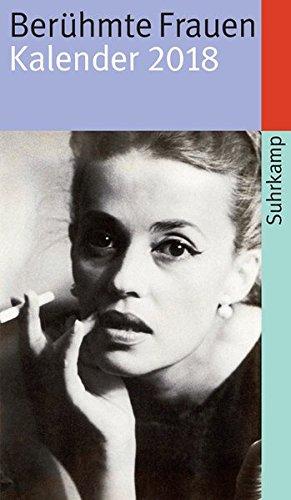 Image of Berühmte Frauen: Kalender 2018 (suhrkamp taschenbuch)
