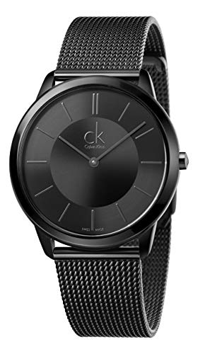 Calvin Klein Minimal K3M214B1 Herrenarmbanduhr Swiss Made