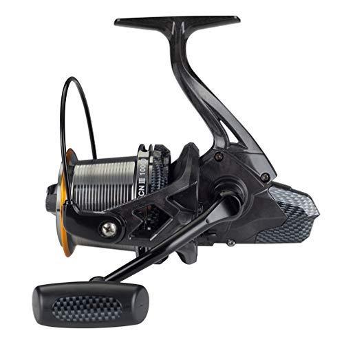 Diwa Spinning Angelrollen 8000/10000/14000 Serie Süßwasser Salzwasser Hochseefischen Kohlefaser Brandungsangeln 12 + 1 Edelstahl BB 70 LBS Max Drag Ultra Smooth Leistungsstarkes Spool Gear (10000)