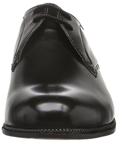 Hudson Londra Ladies Olivia Hi Shine Derby Black (nero)