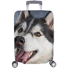 Husky Spandex Maleta con Ruedas Maleta Protectora para Equipaje de Viaje Cubierta 28.5 X 20.5 Inch