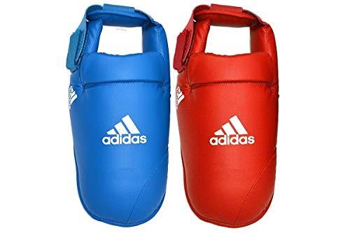 Adidas 661.50d Fußschützer Herren, Blau - blau - Größe: S
