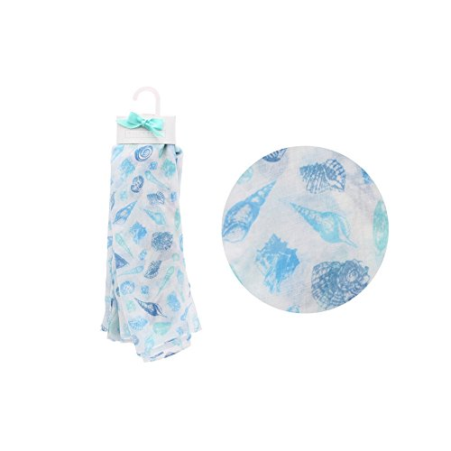 CGB Giftware Willow And Rose Sea Shells Scarf