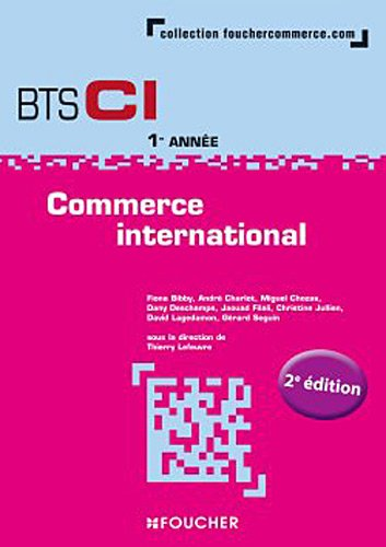 Commerce international 1re année BTS