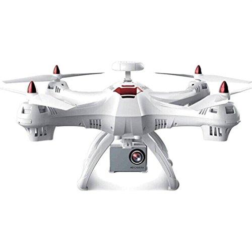 Drone RC,X183S 5 1080 P FPV WiFi caméra gyroscopique 6 GPS Drone LED Suivez-Moi Grand RC Quadcopter télécommande Drone by LHWY (Blanc)
