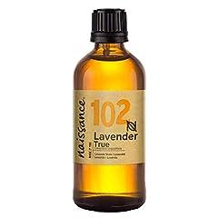 Idea Regalo - Naissance olio essenziale di Lavanda 100ml - Vegano, Cruelty Free, senza OGM