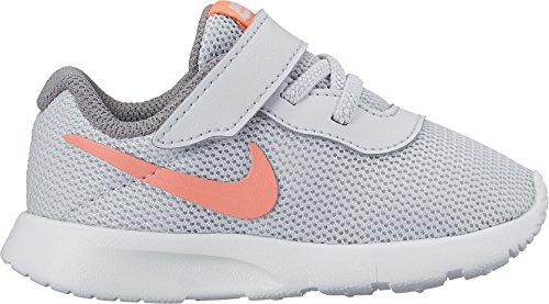 Nike Baby Jungen Tanjun (Tdv) Sneakers Pure Platinum/Lava Glow