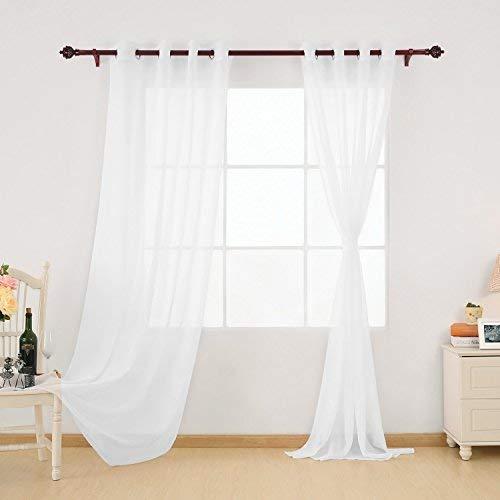 Deconovo tende tende de, bianco, 140x260,2panels