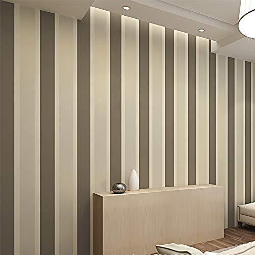 3D Vliestapete Grün Moderne Minimalistische TV Hintergrund Wand Papier Vertikale Streifen Vliestapete Schlafzimmer Wohnzimmer Kaffee gold 10 X 0,53 mt