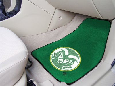 Fanmats 5644 Colorado State University 2 Piece Front Car Mats