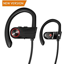 Auriculares Bluetooth Inalambricos IPX7, Winisok Auricular Bluetooth 4.1 Deportivos Cancelación de Ruido con Manos Libres para Correr In ear con Micrófono para iPhone Samsung Huawei Sony