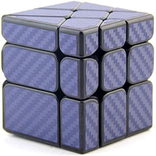 UIUK Rubik Cube-Carbon-Faser-Pyramide Rubiks Würfel Charm Drachen 3.Ordnung Early Learning Educational Toy Rubiks Cube Shaped