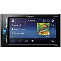 Pioneer Car Multimedia Autoradio USB/Bluetooth 4 x 50 w Noir