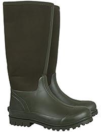 Mountain Warehouse Botas de Agua de Estilo Informal Neoprene Mucker para Hombre - Botas de Agua Impermeables, Resistentes, Zapatos robustos - para Caminar, Viajar