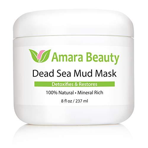 Amara Organics Totes Meer Schlamm Maske für Gesicht und Körper - 2