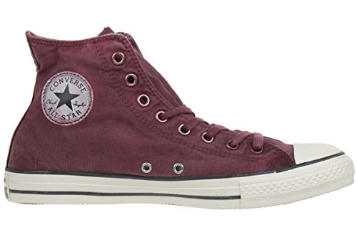 Converse  Chuck Taylor All Star Adulte Basic Wash, Sneakers Basses homme Rouge - Rot (Weinrot)