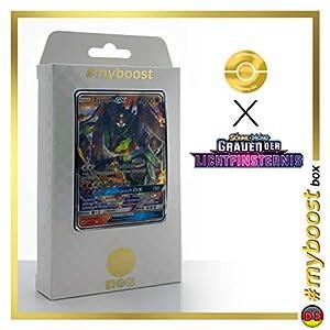 Zygarde-GX 73/131 - #myboost X Sonne & Mond 6 Grauen Der Lichtfinsternis - Box de 10 Cartas Pokémon Aleman