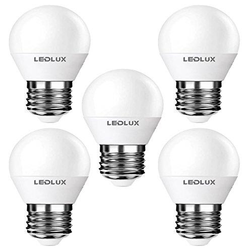 5x E27, LED E27, LED lampe E27, 8W Warmweiss, 790 Lumen Ø 45mm Ra >80, 230V CCD Ersetz 70W, LumenTEC (5er WW)