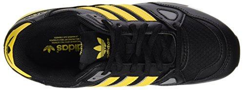 adidas Jungen Zx 750 Turnschuhe Schwarz (Core Black/Eqt Yellow S16/Ch Solid Grey)