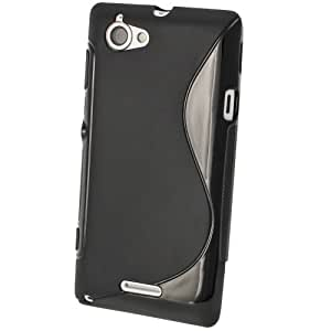 S Case Grip Back Case Cover for Sony Xperia L C2105