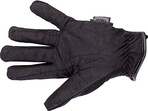 HKM Erwachsene Reithandschuhe -Thinsulate Winter-9100 schwarzM Hose, 9100 schwarz, M