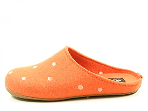 Haflinger Everest Noblesse, Chaussons Mules mixte adulte Orange (zimt)