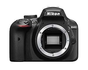 Fotocamera Reflex NIKON D3400 body - solo corpo macchina + SDHC 8GB