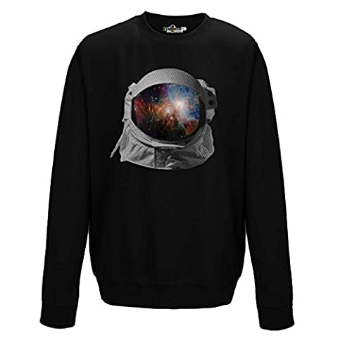 crewneck sweater Spaceman Space Universe Solar System Image XXL