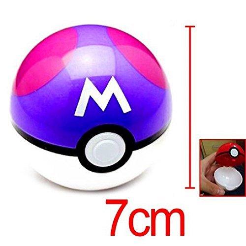 Preisvergleich Produktbild Pokemon Poke Ball Pokeball Mini Model Classic Anime Pikachu Super Master Pokemon Ball Action Figures Toys 7cm by Pokeball