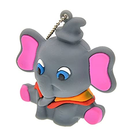 FEBNISCTE Elephant Shape 8gb USB 3.0 Memory Stick Thumb Pen