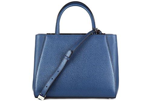 8BH253D7EF0JTZ Fendi Sac à main Femme Cuir Bleu Bleu