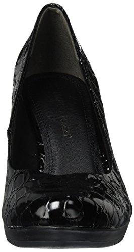 Marco Tozzi 22407, Scarpe con Tacco Donna Nero (Black Strpat)