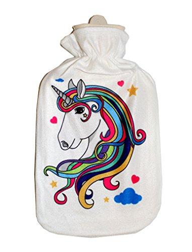Preisvergleich Produktbild Einhorn Luna Wärmflasche ca 2L (Einhorn 2)