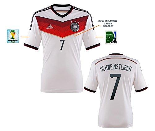 Trikot Herren DFB WM 2014 Home Finale - Schweinsteiger 7 (M)