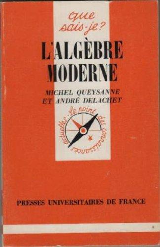 L'algbre moderne