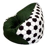 Sitzsack XL 'Fussball Nr.III' incl. Inlett