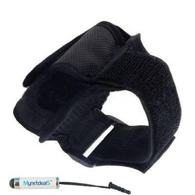 Premium Sport-Armband/Tasche, groß, für ZTE Grand X-Mini/Max Z987 Touch Eingabestift, Schwarz